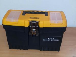 Футляры для аптечек пластмассовый чемоданчик JMT-13