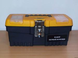 Футляры для аптечек пластмассовый чемоданчик MT-13