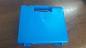футляр синий